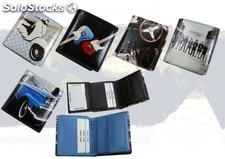 Billfold With Digital Leather Print. Your Own Phot