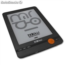 "Billow E03E eBook reader E03E 6"" e-Ink 4GB Gri+lpi"