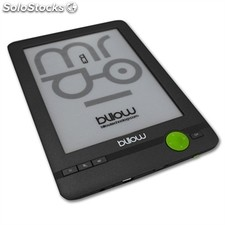 "Billow E03FL eBook reader 6"" e-Ink 4GB Luz Gri+lpi"