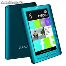 "Billow E2TLB Color eBook reader 7"" 4GB Azul+lpi"