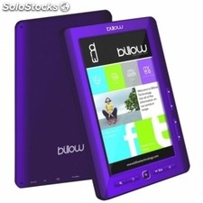 "Billow E2TP Color eBook reader 7"" 4GB Púrpura+lpi"