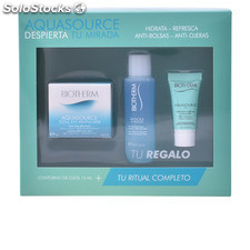 Biotherm aquasource total eye revitalizer lote 3 pz