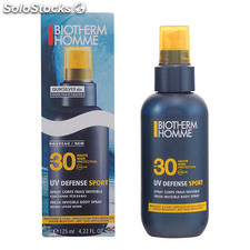 Biotherm - homme uv defense sport spray corps SPF30 125 ml