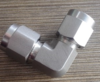 Bite-Type fittings 90° Elbow pneumatic connectors stainless steel