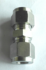 Bite-Type fittings straight Bulkhead pneumatic connectors stainless steel