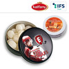Black Or White Tin With Kalfany Ice Candies