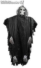 Black skeleton Halloween decorative item