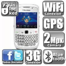 Blackberry curve 8520 blanco (liberado)