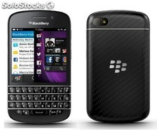 BlackBerry Q10 Negro libre, teclado QWERTY