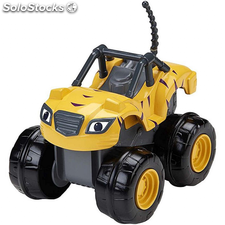 Blaze and the Monster Machines Coche de carreras Slam&Go Stripes CGK25