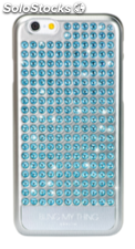 BlingMyThing Extravaganza Pure azul Aqua, iPhone 6