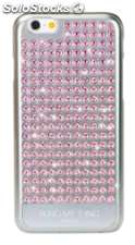 BlingMyThing Extravaganza Pure rosa claro, iPhone 6