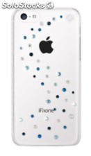BlingMyThing Milky Way iPhone 5C, Azul Mix