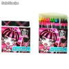 Blister 12 ceras Monster High