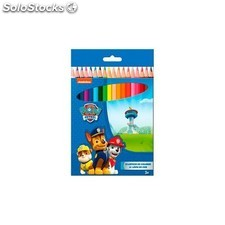 Blister 18 lapices Colores Patrulla Canina Paw Patrol