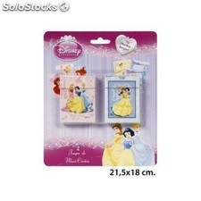Blister 2 Juego Mini cartas Princesas Disney
