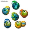 Blister 2 Pelotas Surtidas Monsters University (6 cm).