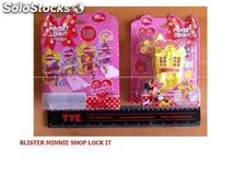 Blister Minnie Shop Lock it