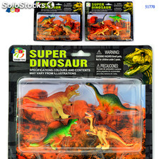 Blister Super Dinosauro set 4 pezzi 51770