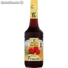 Blle 70CL sirop fraise tradition valdonne