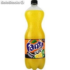 Blle pet 1.5L fanta zero orange