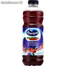 Blle pet 1L jus cranberry myrtille ocean spray