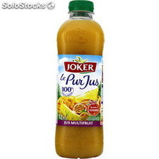 Blle pet 1L pur jus multifruits passionata joker