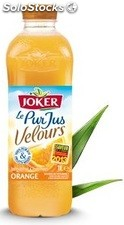 Blle pet 1L pur jus orange velours joker