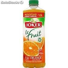 Blle pet 1L5 jus orange ovaline joker