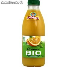 Blle pet 75CL jus orange bio andros