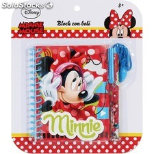 Bloc 13X10CM con boli minnie - disney - minnie - 8433774621744 - BY02090562174