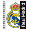 Bloc Real Madrid White A5 microperforado 120h