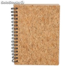 Blocco notes sughero naturale