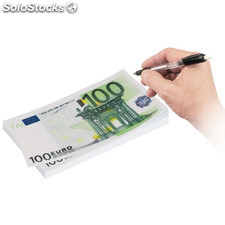 Block notes 100 Euro (modello Grande)