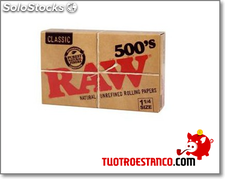 Bloco de papel RAW 500