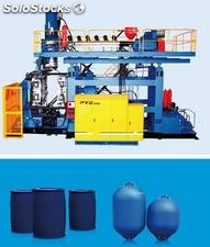 blow molding machine for 200L drums and barrels, auto parts