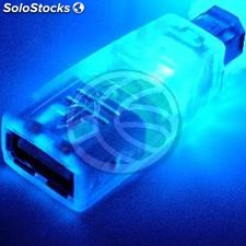 Blue led usb Adapter (ah/bm) (UB37)