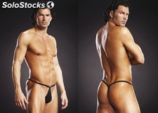 Blue line Pouch g-String black l/xl