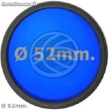 Blue photo lens filter 52 mm (EF13)