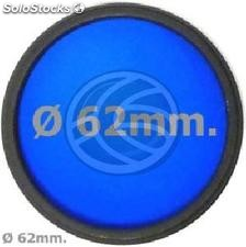 Blue photo lens filter 62 mm (EF15)