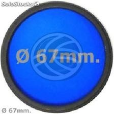 Blue photo lens filter 67 mm (EF16)
