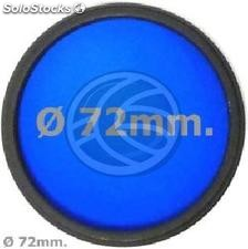 Blue photo lens filter 72 mm (EF17)