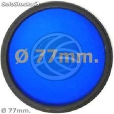 Blue photo lens filter 77 mm (EF19)