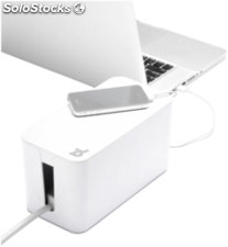 Bluelounge CableBox Mini blanco