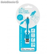 Bluestork - bs-usb-ikey/bl 0.09m usb a Lightning Azul cable usb