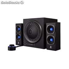 Bluestork - KLUB300 2.1channels 120W Negro conjunto de altavoces