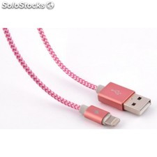 Bluestork - trendy-li-w 1.2m usb a Lightning Rosa cable usb