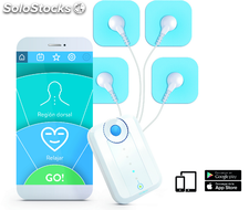 BlueTens, electroestimulador muscular Bluetooth