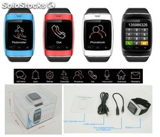 bluetooth reloj inteligente celular s12 sincronizar Iphone y android phone
