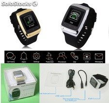 bluetooth reloj inteligente s15 camara 2mp sincronizar Iphone y android celular